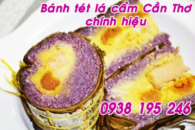 Đặc sản Bánh Tét Trà Cuôn Trà Vinh uy tín tại Sài Gòn