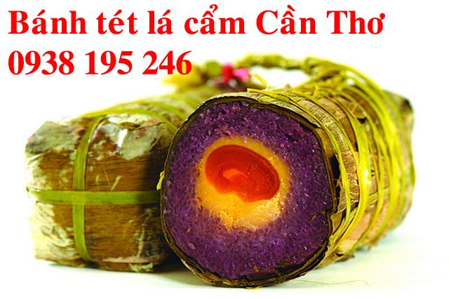 Bánh tét lá cẩm Cần Thơ bán ở đâu tại Sài Gòn?