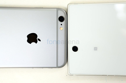 so sánh iPhone 6 Plus với Xperia Z Ultra